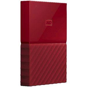 WD 4TB My Passport Portable Hard Drive Red