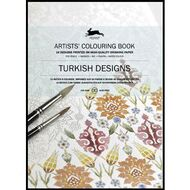Pepin Artist Colouring Book Turkish Designs