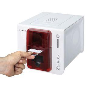 evolis zenius id card printer kit - Id Card Printer