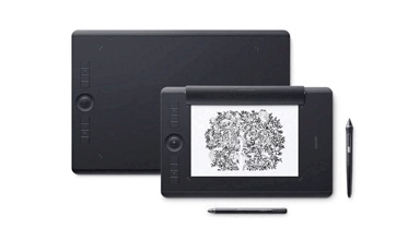 Wacom Intuos Pro Pen 2 has a medium sized screen that's perfect for designing, editing and sketching.