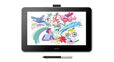 Wacom One Creative Display is ideal for enhancing your creativity and productivity, allowing you to draw pictures, practice visual thinking, enhance videos and phots and annotate and sign essays and documents.