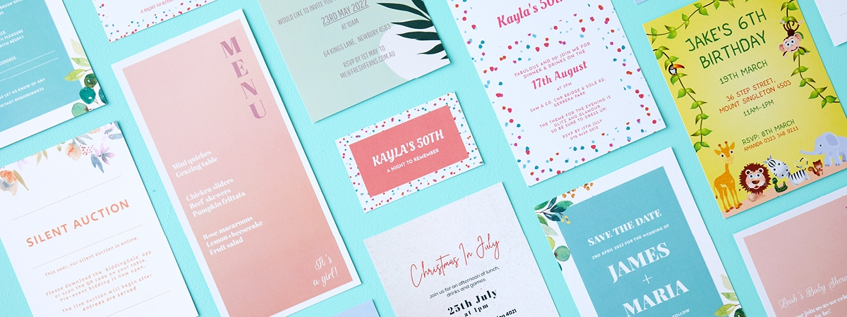 How to Create Perfect Printed Party Invitations (and More!)
