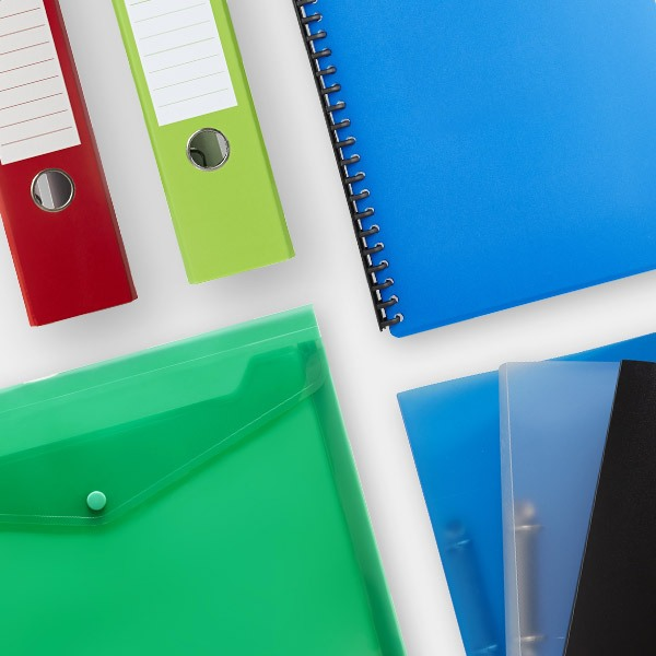 Officeworks back to school 2020 - Display books, Document wallets & Binders