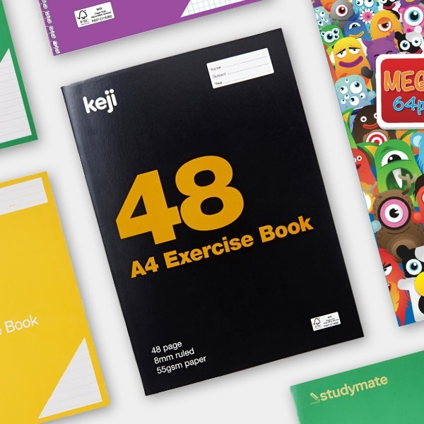 Officeworks back to school 2020 - Exercise, subject & lecture books