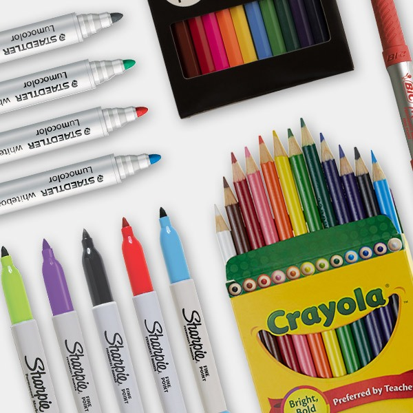 Officeworks back to school 2020 - Markers & Coloured Pencils