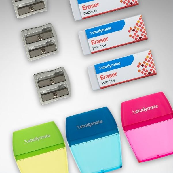 Sharpners & Erasers