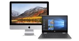 Laptops, Desktops & Software