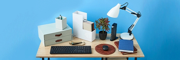 Desk Essentials for the Home Office