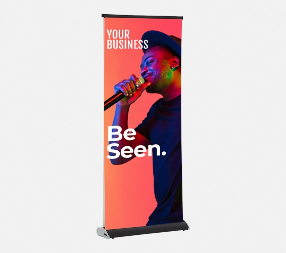 Double Sided Pull Up Banners   Print & Copy at Officeworks