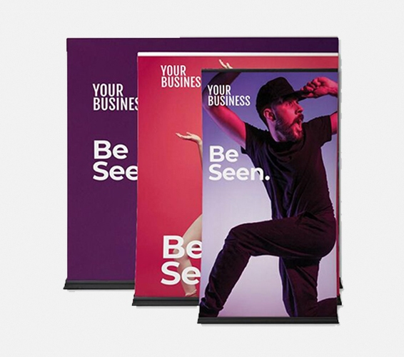 Extra Wide Pull Up Banners   Print & Copy at Officeworks