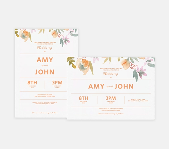 Invitations   Print & Copy at Officeworks