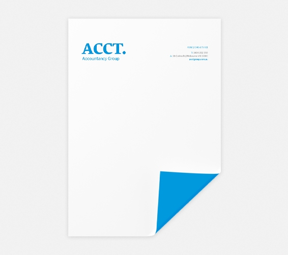 Letterheads   Print & Copy at Officeworks