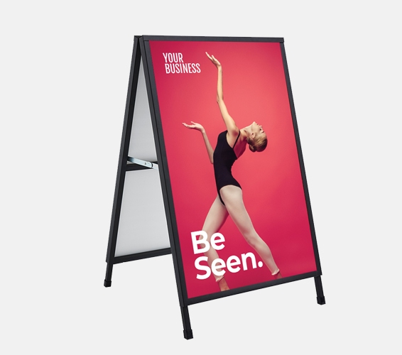 Outdoor Metal A-Frames   Print & Copy at Officeworks