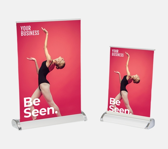 Mini Pull Up Banners   Print & Copy at Officeworks