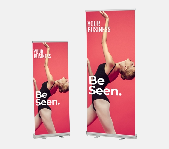 Pull Up Banners   Print & Copy at Officeworks