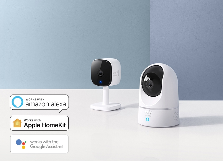 Eufy Indoor Cameras | Indoor Security Cameras with 2K Resolution and On-Device Ai Technology.