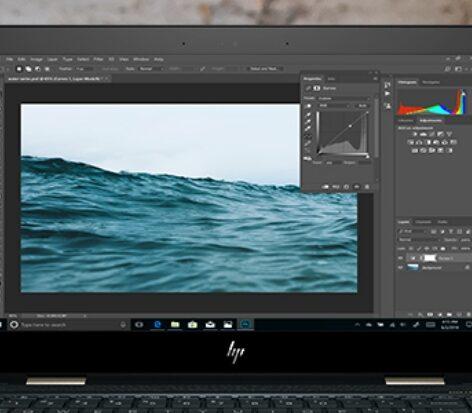 HP Spectre x360 - Photo editing