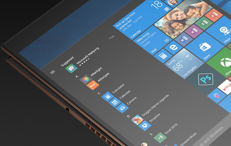 HP Spectre x360 - With the strong, more durable protection Corning® Gorilla® Glass NBTTM displays