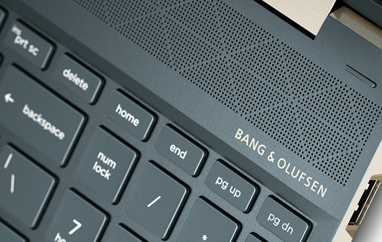 HP Spectre x360 - Audio by bang & olufsen