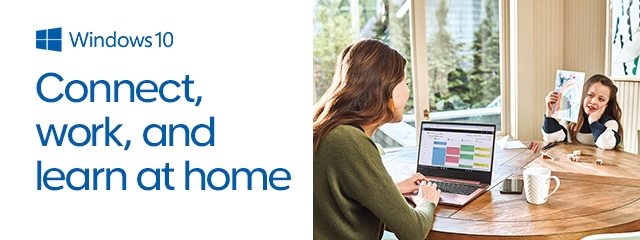Connect, work, and learn at home