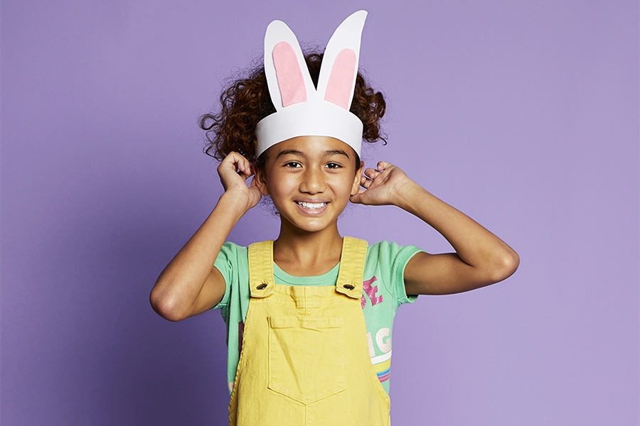 Easter bunny ears craft project