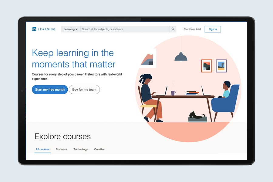 Learn marketing and management skills for small business with LinkedIn Learning