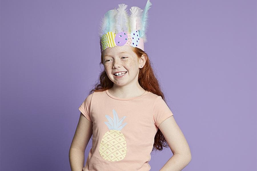 Creative hat ideas: Easter egg headband
