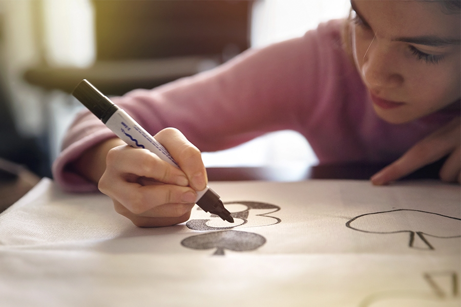 Keep young teens and tweens busy at home with easy DIY projects and cool art ideas.