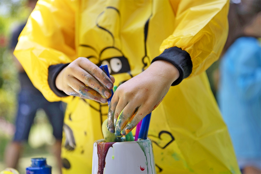 Why painting is good for kids