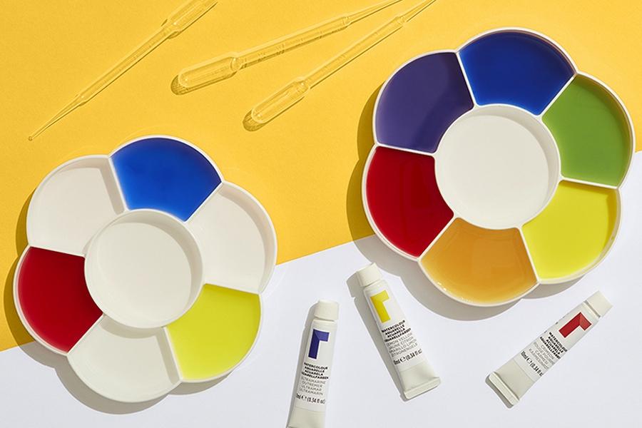 Officeworks watercolour paints for STEM