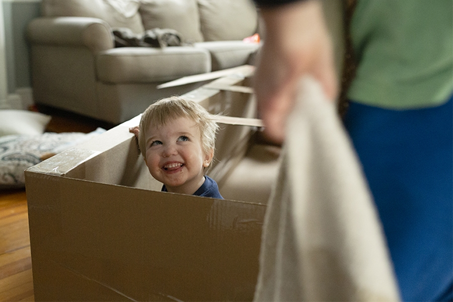 Help kids manage stress with an obstacle course