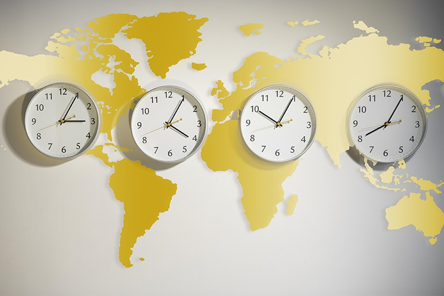 Tip for productive conference calls: check all time zones before you schedule meetings