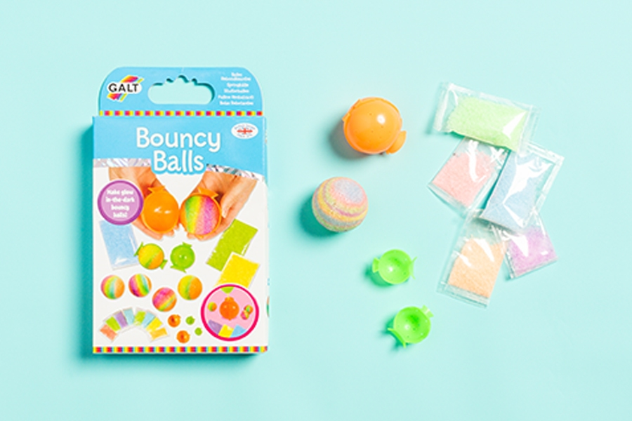 Officeworks craft project: DIY bouncy balls kit