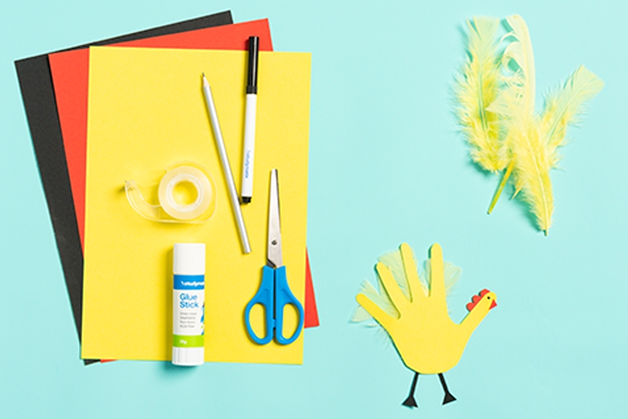 Officeworks craft supplies for easy Easter crafts