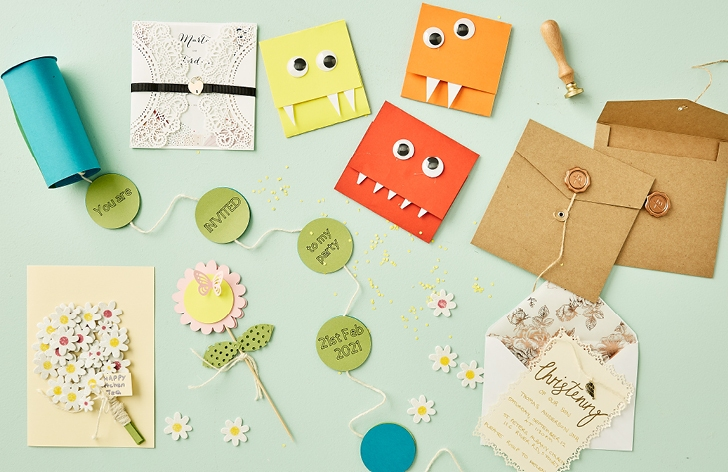Beautiful, Fun, Creative DIY Invitations for Your Next Event