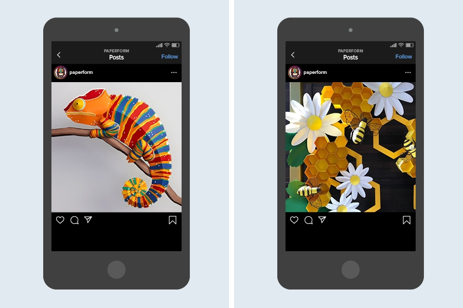 You'll be amazed that all the creations on @paperform are only made from paper