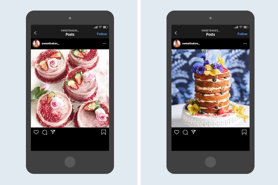 Consider the baked goods on @sweetbakes_ a form of edible art on Instagram