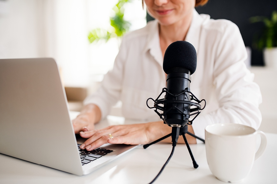 Try creating a podcast on your favourite topic as a way to express yourself creatively