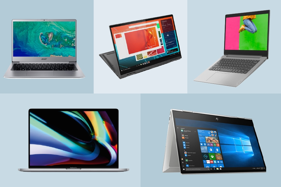 Apple, Acer, Lenovo, Asus and HP are brands to consider when buying a new work laptop.