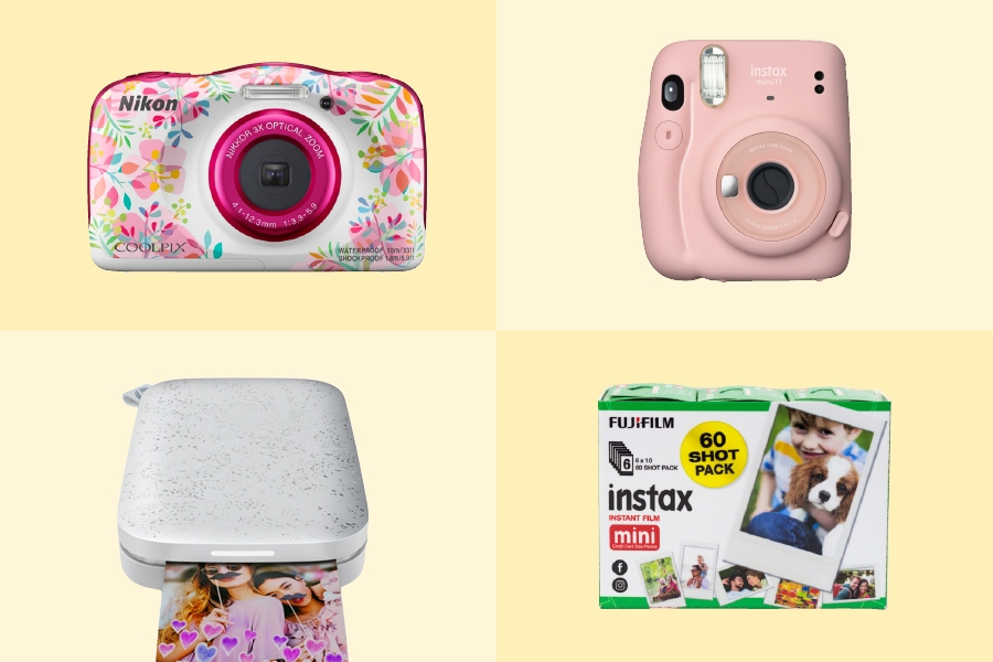 Instant cameras are a great way to get kids started with photography.