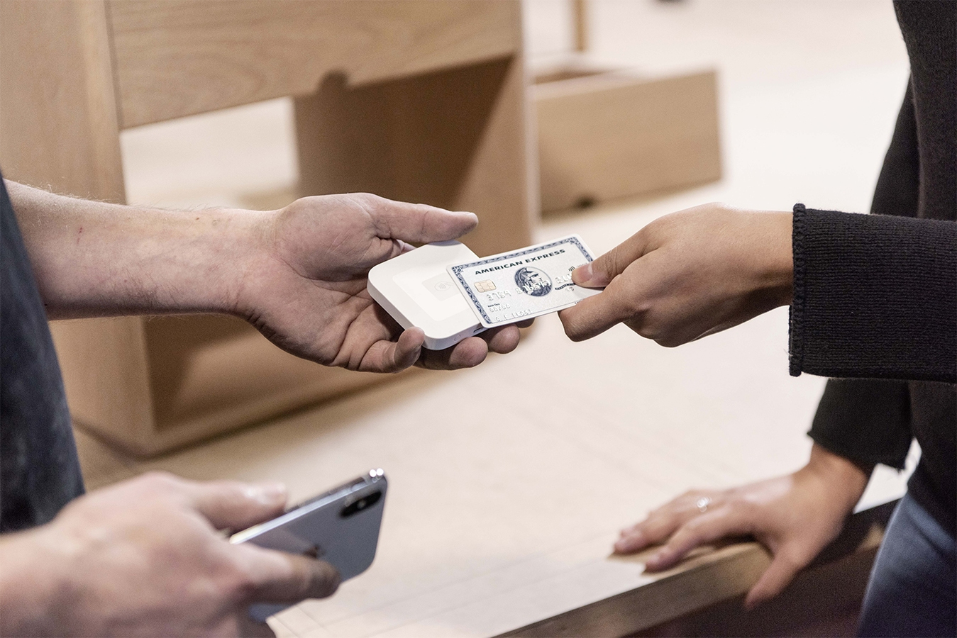 A smartphone and a Square Reader creates an easy payment solution for growing businesses