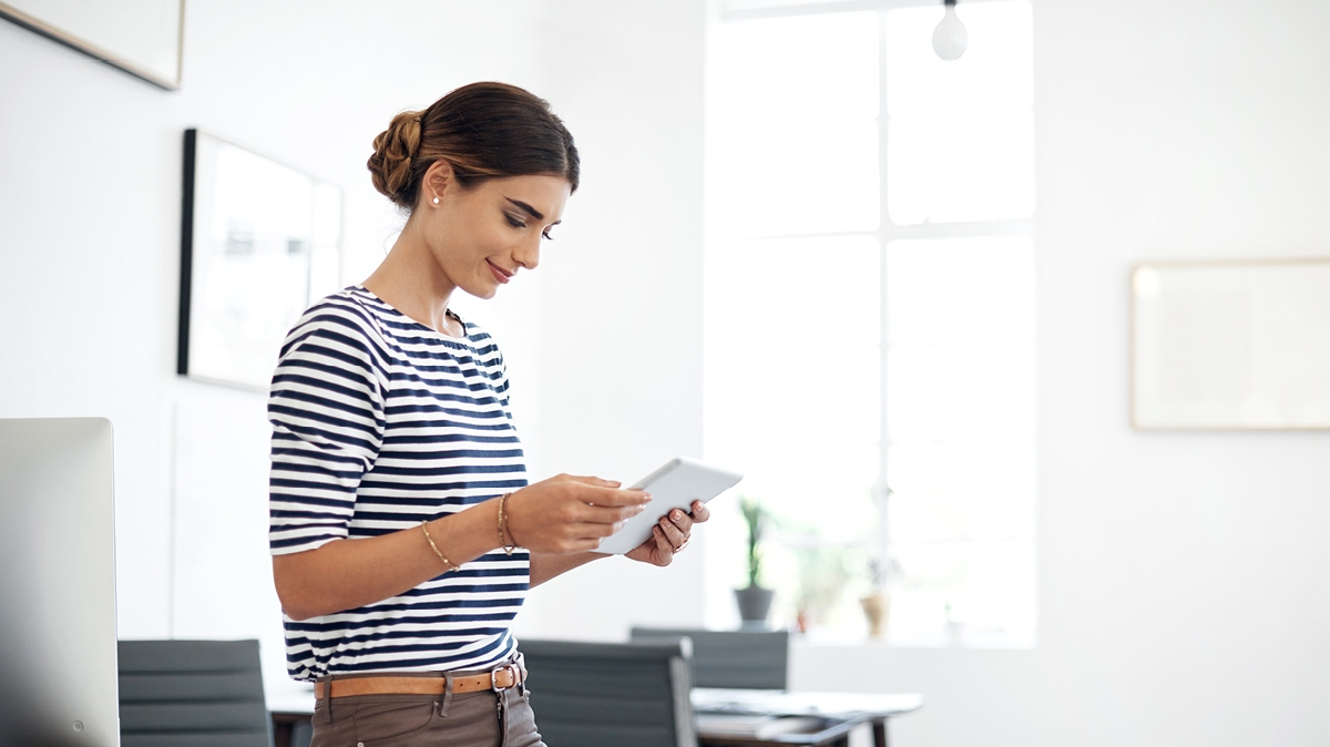 Create a connected office with smart workplace technology