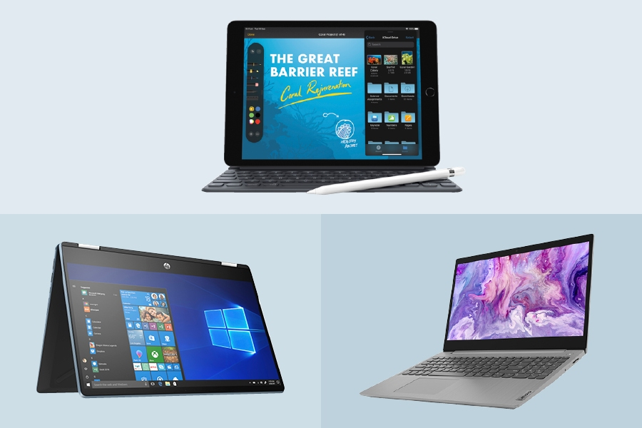 Best HP, Lenovo and Apple business laptops and devices from Officeworks.