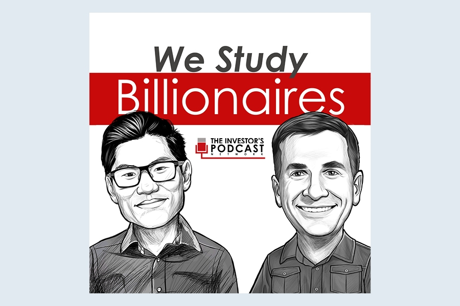 Business podcast We Study Billionaires covers subjects such as adversity and philanthropy.