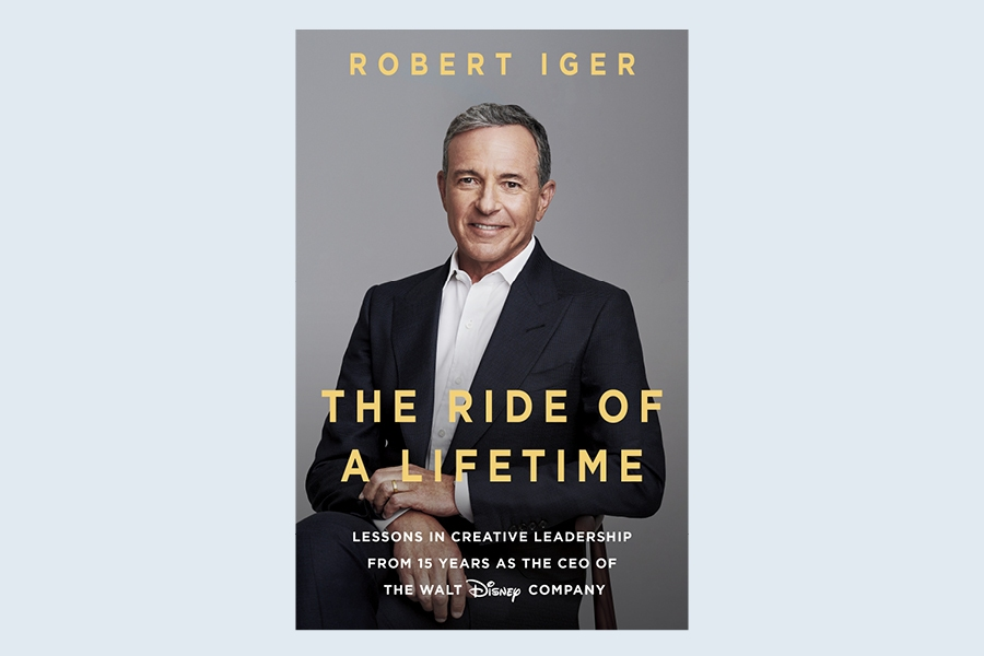 The Ride of a Lifetime by Robert Iger is a business book that Bill Gates recommends.