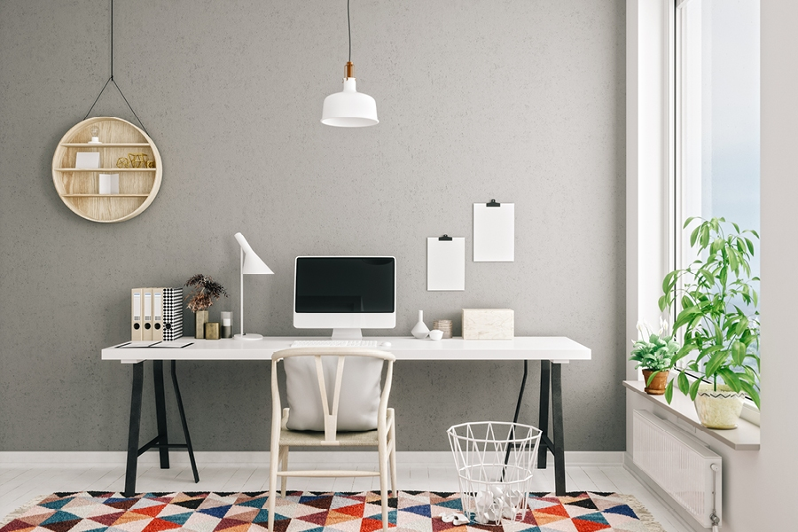 Now is the time to properly set up your work-from-home office space for remote working.