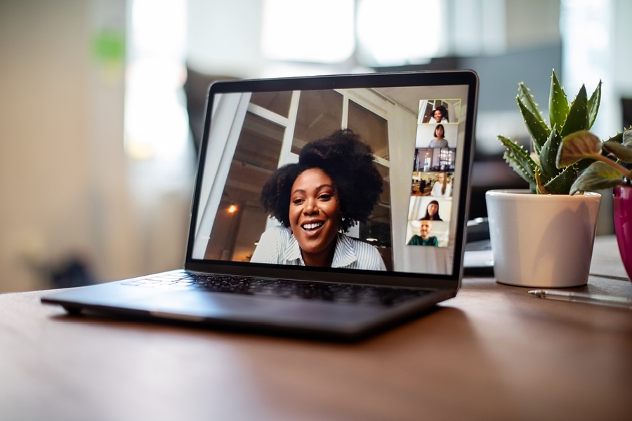 If you're working from home, follow these tips to set up for better videoconferencing.