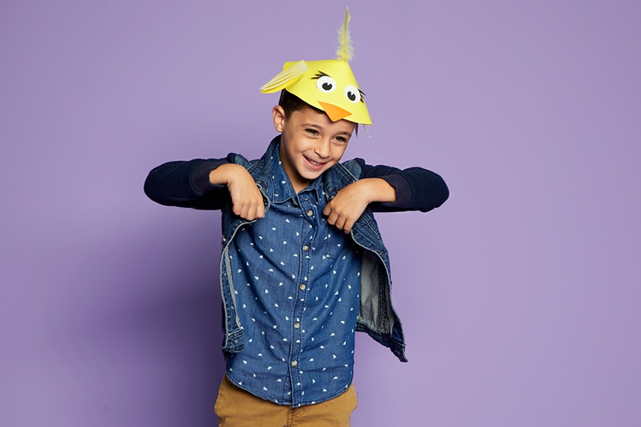 Creative hats to make: Easter chick