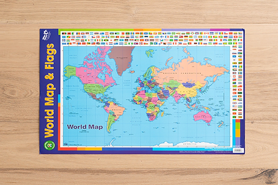 Fun ways for kids to learn with a world map