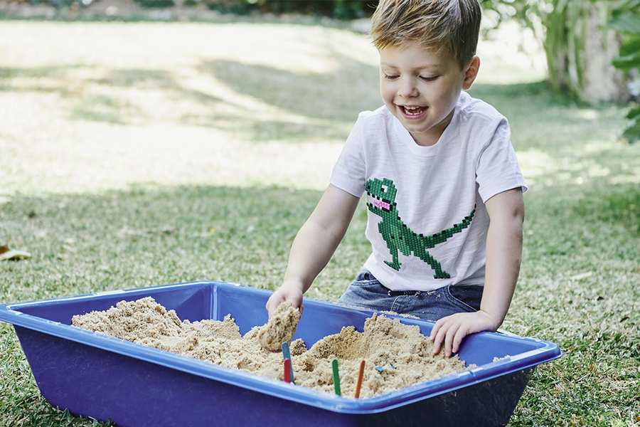 Teach your child independent play